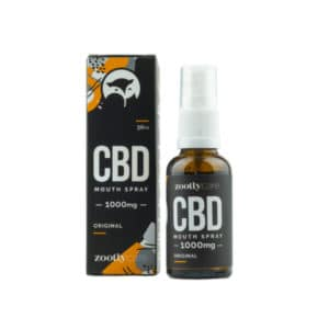 Zootly Broad Spectrum CBD Oil 1000mg