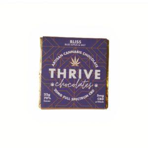 Thrive Artisan Cannabis Chocolate – Blue Lotus & Salt